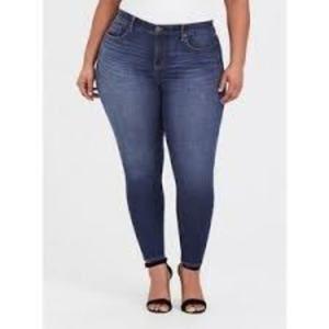 Torrid Skinny Blue Jeans 16R